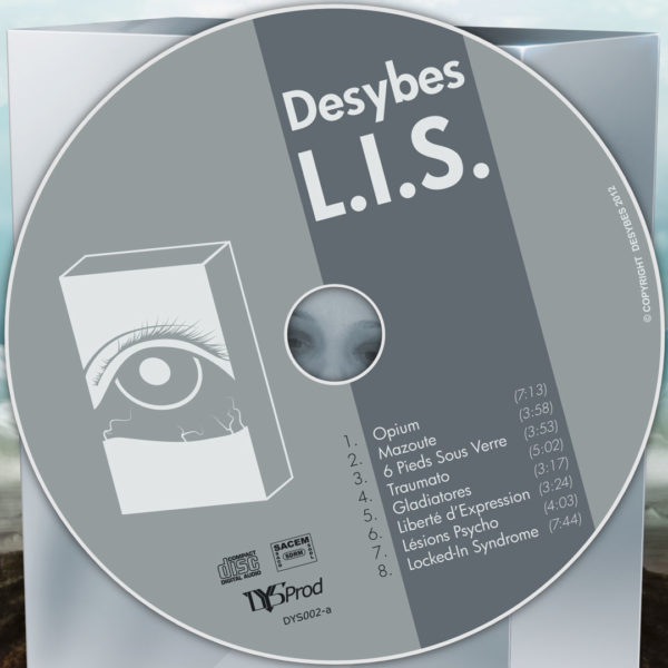 jaquette et CD L.I.S.