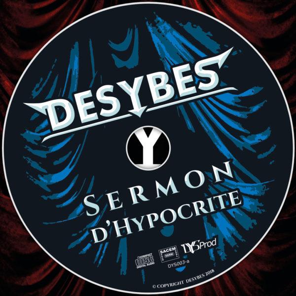 jaquette et CD Sermon d'Hyposcrite