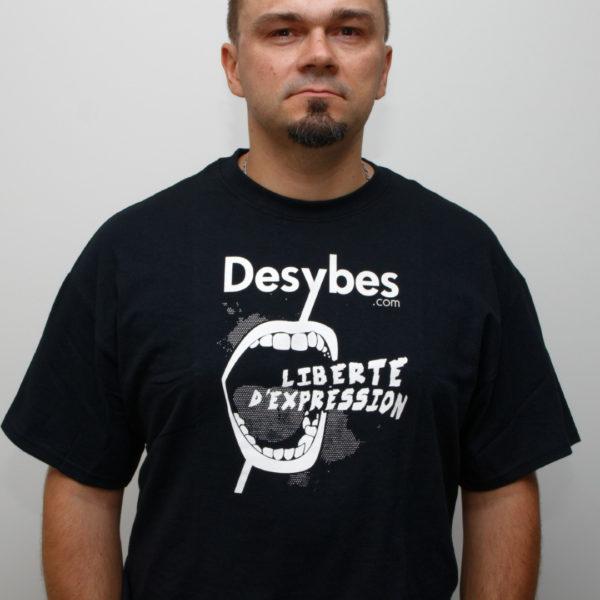 tshirt Liberté d'Expression (homme) #2