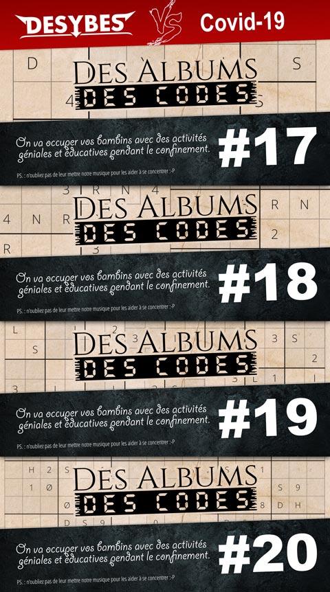 On aime les codes chez Desybes. Certain d'entre vous ont dû le remarquer, dans les quelques traces laissées dans les livrets des CD, par exemple.