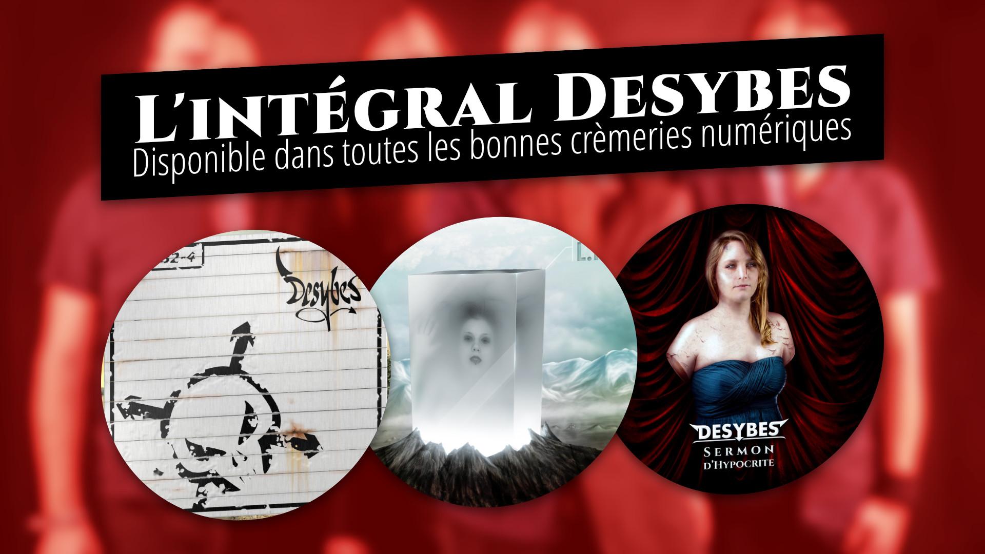 L'intégral de Desybes est disponible sur les plateformes de musique numérique